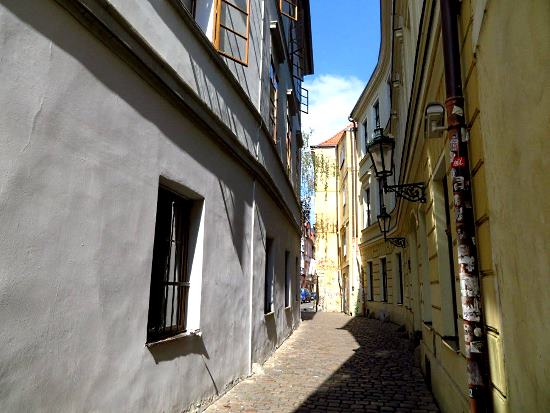 Alley at Řetězová Street