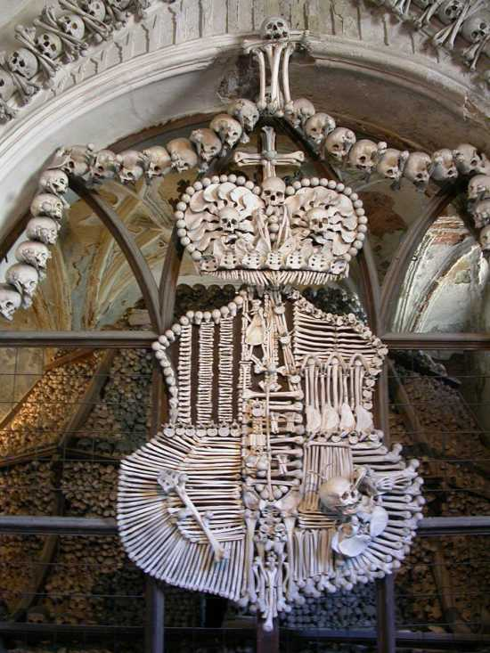 Schwarzenberg Coat Of Arms Made Out Bones Photo Baba Studio