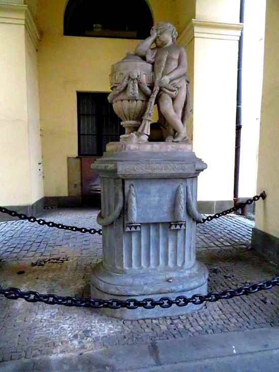Statue in the Klementinum