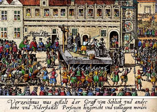 Executions at Old Town Square