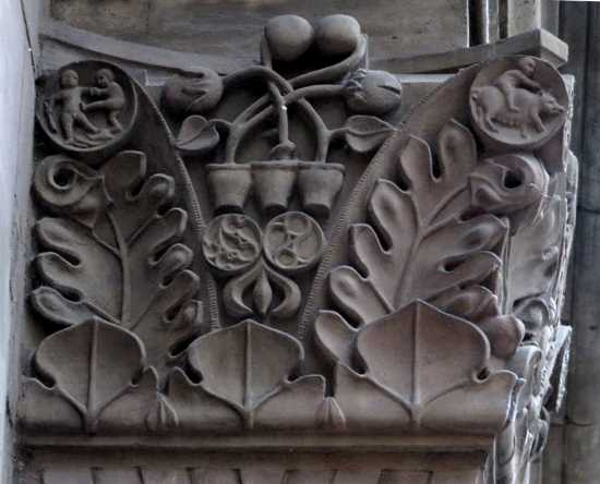 Side of the left capital