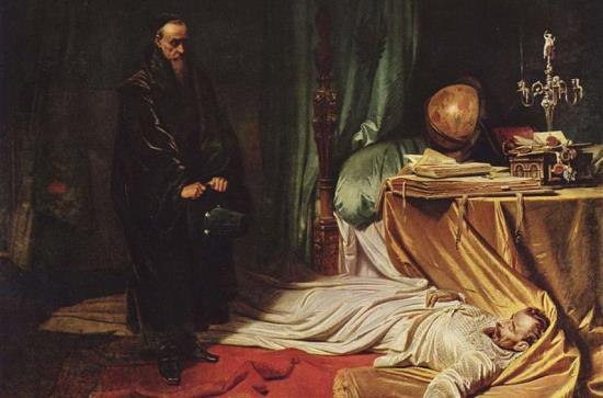 Seni at the Dead Body of Wallenstein